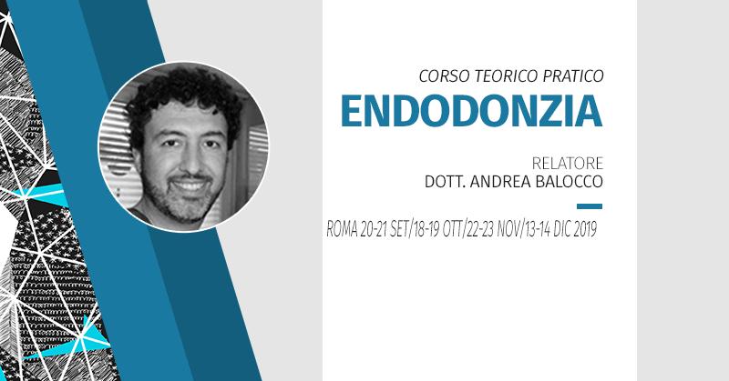 [Roma] Corso Teorico Pratico Di Endodonzia 2019