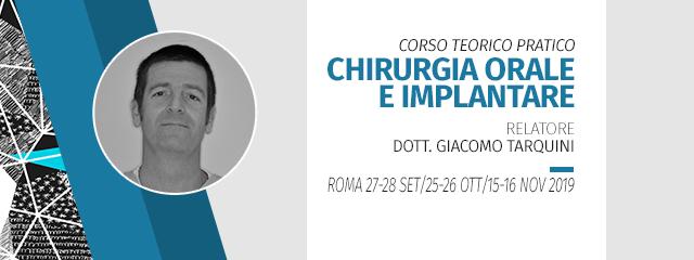 [Pratica Su Paziente] Corso Teorico Pratico Di Chirurgia Orale E Implantare 2019