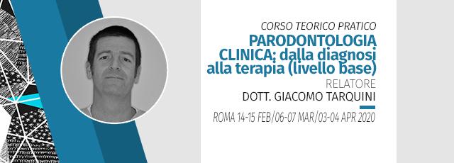 [pratica Su Paziente E Su Modello Anatomico] Corso Teorico Pratico Di  Parodontologia Clinica:  Dalla Diagnosi Alla Terapia (livello Base) 2020