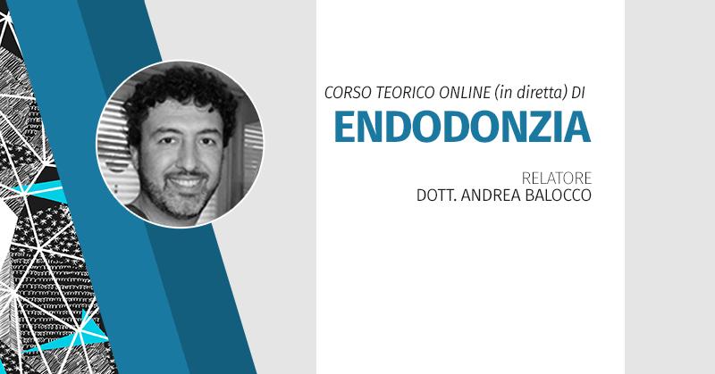 Corso Teorico Online (in Diretta) Di Endodonzia