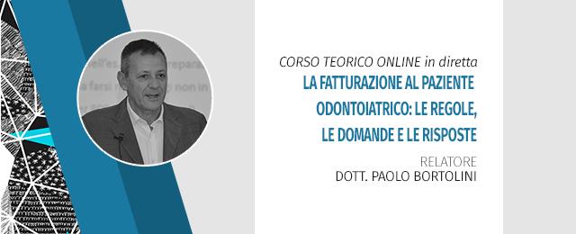 Corso Online In Diretta - La Fatturazione Al Paziente Odontoiatrico: Le Regole, Le Domande E Le Risposte